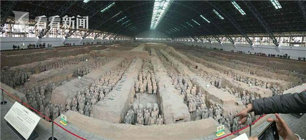Video | Xian terracotta attractions like: black driver to talk to village attractions