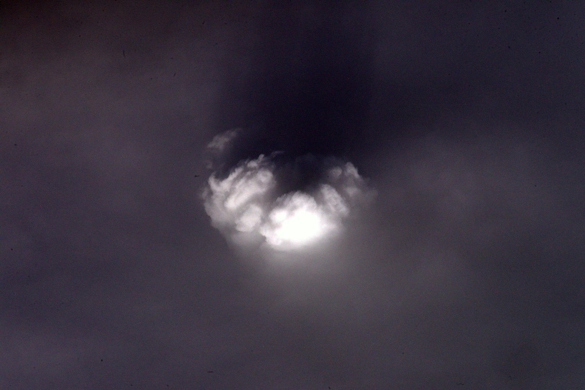 French Astronaut Thomas Pesquet - Cumulonimbus Clouds