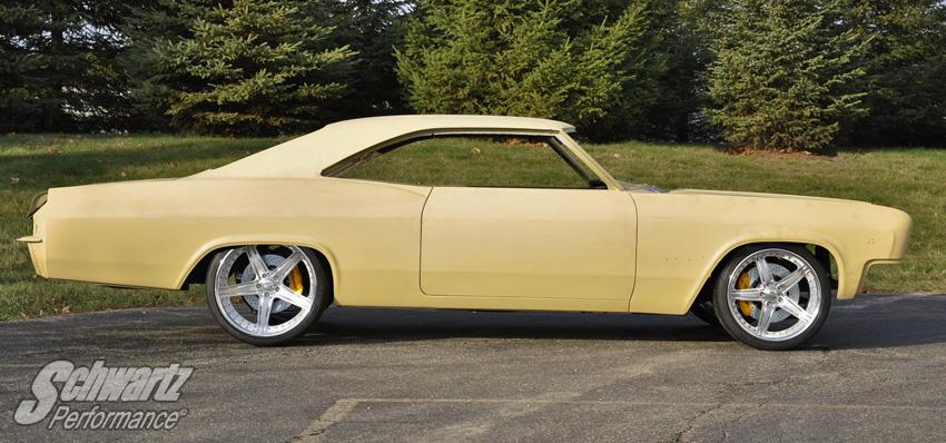 1965-1967 GM B-Body Impala, Biscayne Chassis - Schwartz
