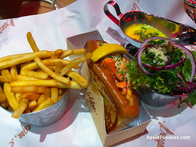Burger and Lobster Malaysia The Original with Japanese mayonnaise
