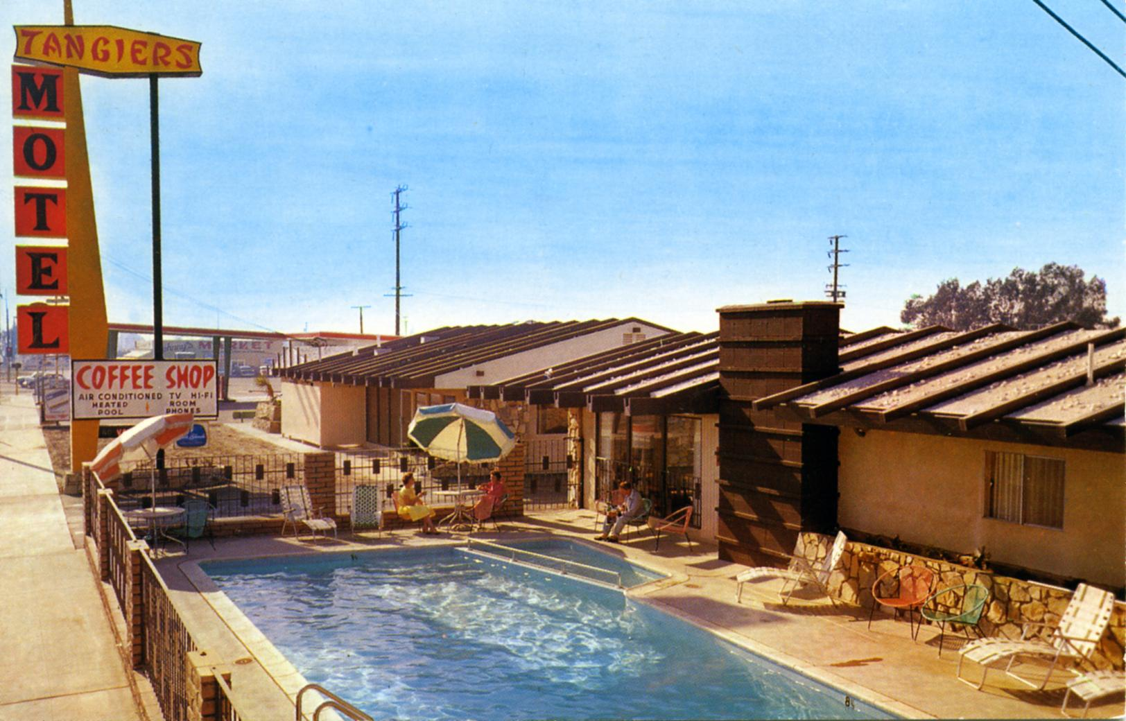 Tangiers Motel - 920 South Beach Boulevard, Anaheim, California U.S.A. - 1960s