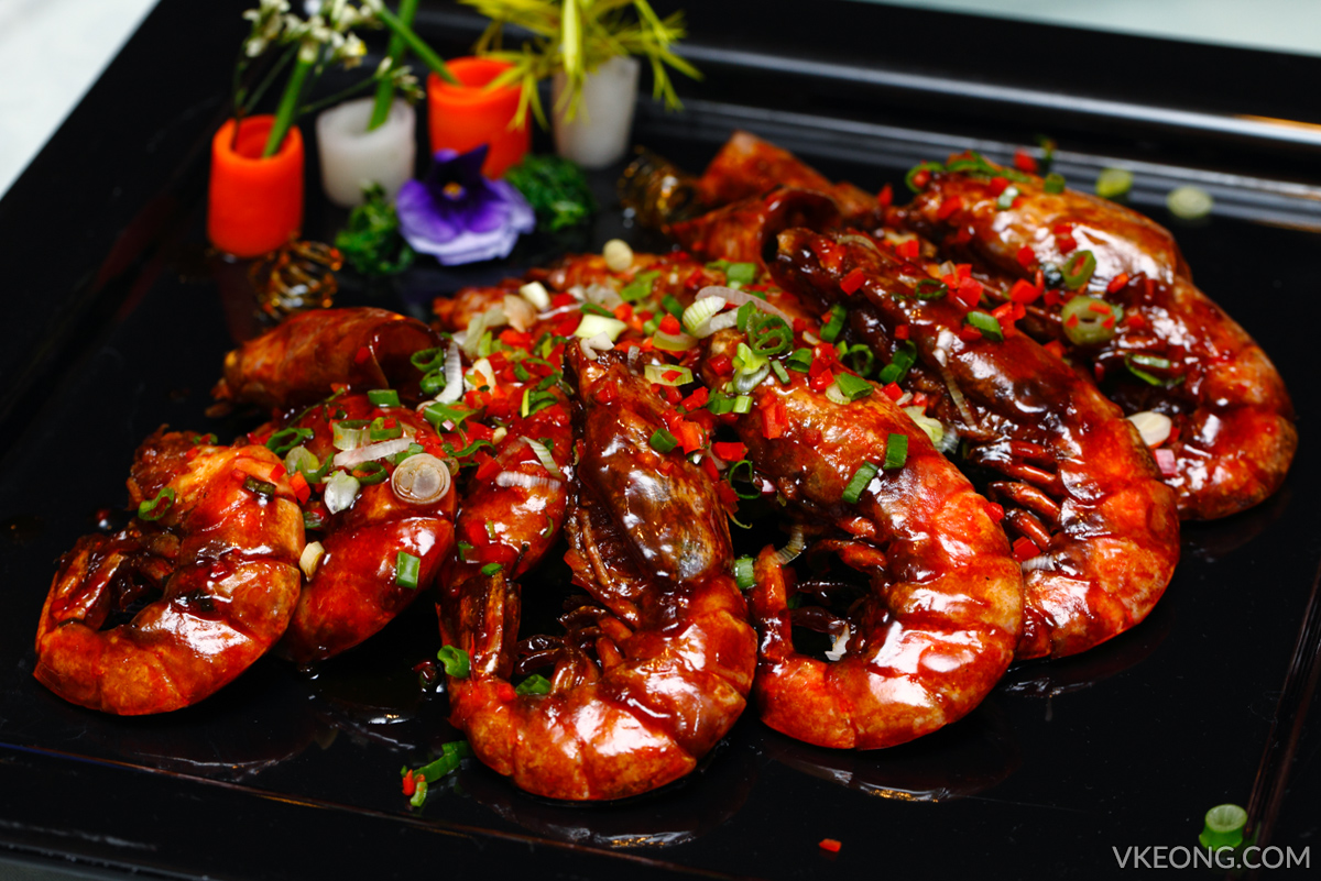 Genting Palace Pan Fried Marmite Prawns