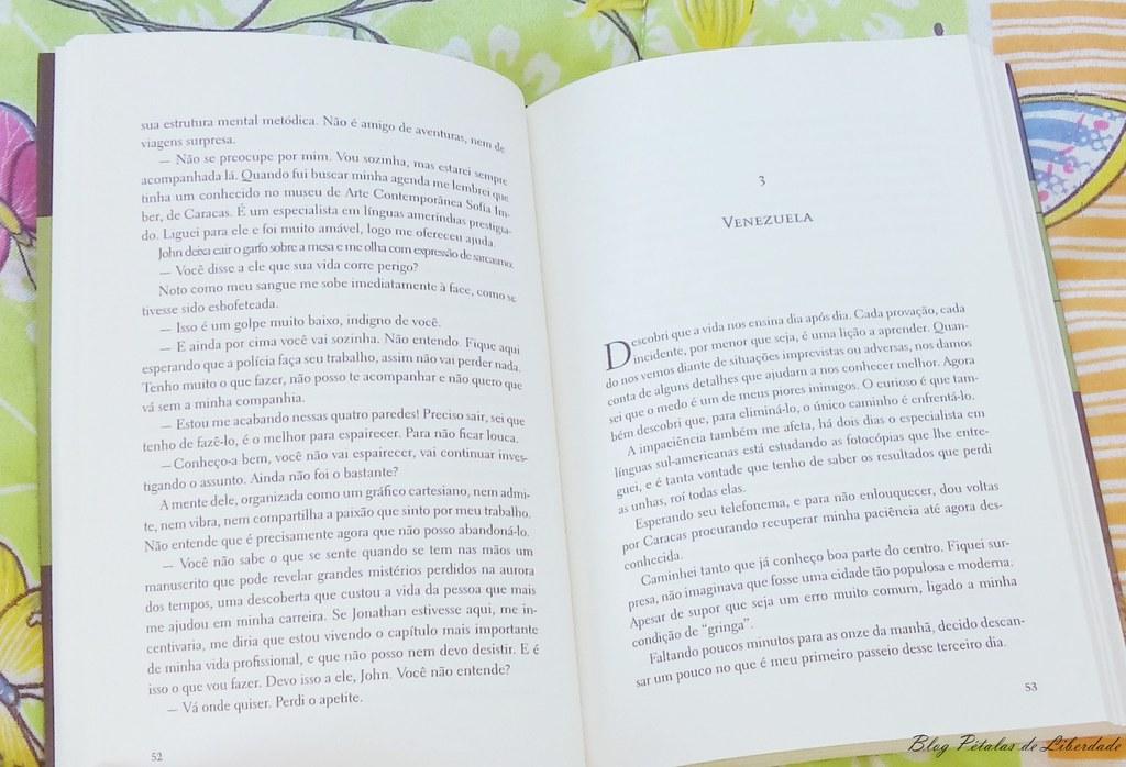 Resenha, livro, A-Chave-do-Amanhecer, Pedro-Terrón, primavera-editorial, kalixti, fotos, trechos, venezuela, diagramação