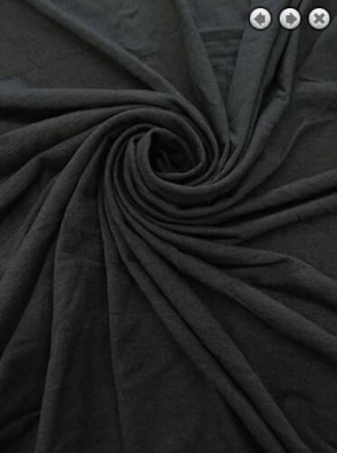 gray rayon poly pre-cut