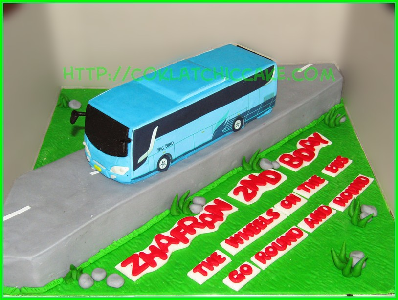 Cake Bus Big bird