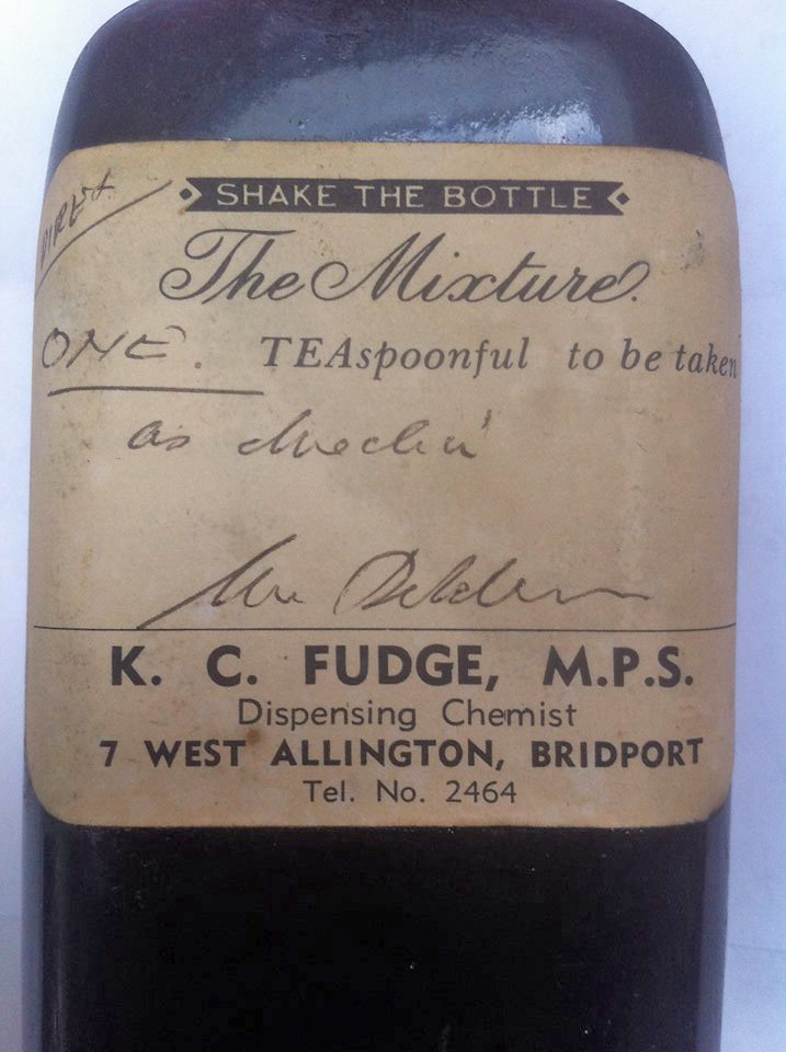 Fudge bottle