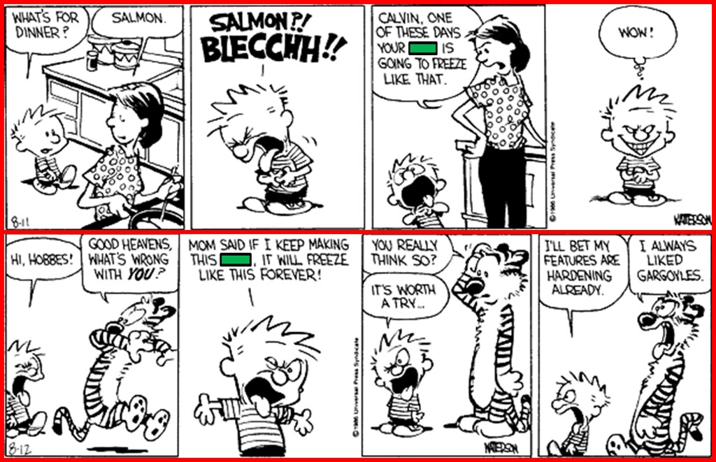 Calvin and Hobbes: 2 Strips, 1 Missing Word Part 2 Quiz - By