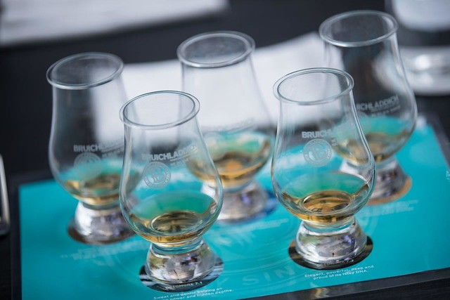 The Bruichladdich Tasting Flight
