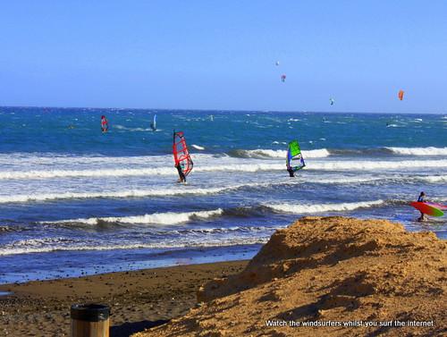 Windsurfers, El Médano
