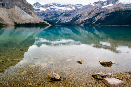 Bow Lake Alberta Canad...