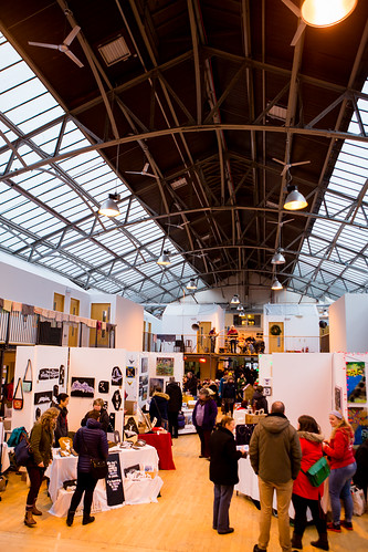 Xmas Arts Market - Photo by Stevie Powers | by The Out of the Blue Drill Hall