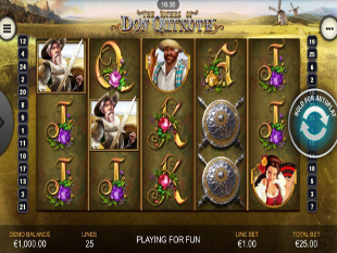 The Riches of Don Quixote Mobile slot game online review