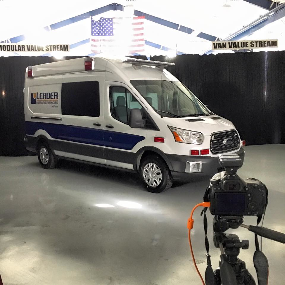2015 Medix Ford Transit Type Ii Ambulance: Ford Transit Prototype Ambulance