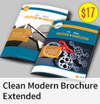 Brochure - clean modern