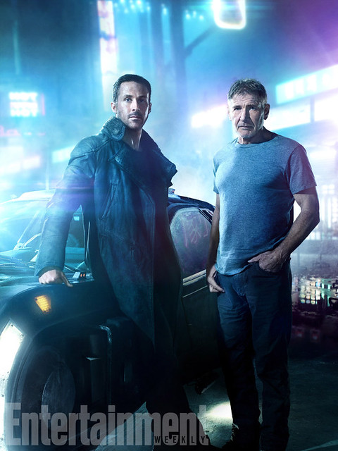 Blade Runner 2049 (2017).L-R: Ryan Gosling and Harrison Ford