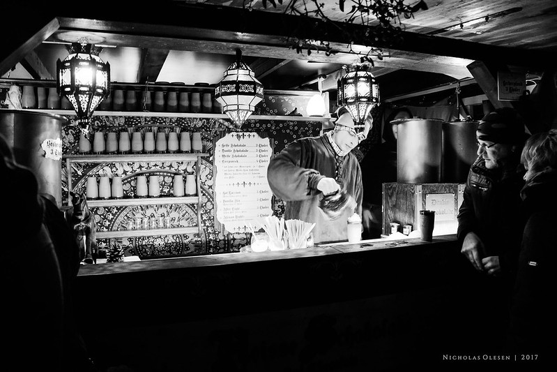 Dresden | Christmas Market Drink Stall