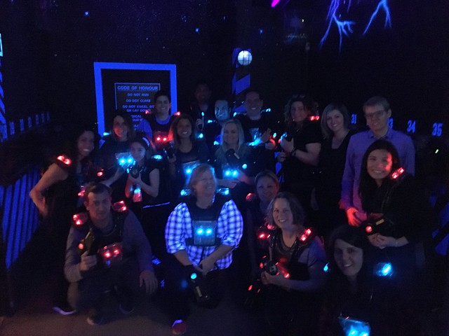 Laser tag for my birthday!