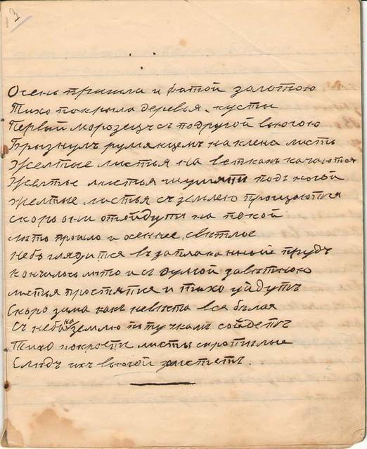 Тетрадь стихов Аленушки Маминой 1