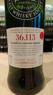 SMWS 36.113 - Sawmill in a summer meadow