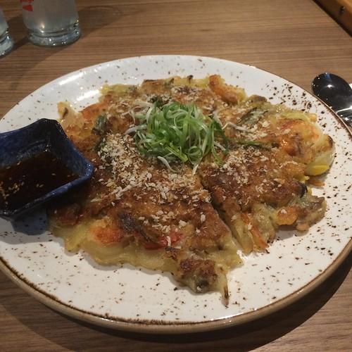 pajeon, korean dish