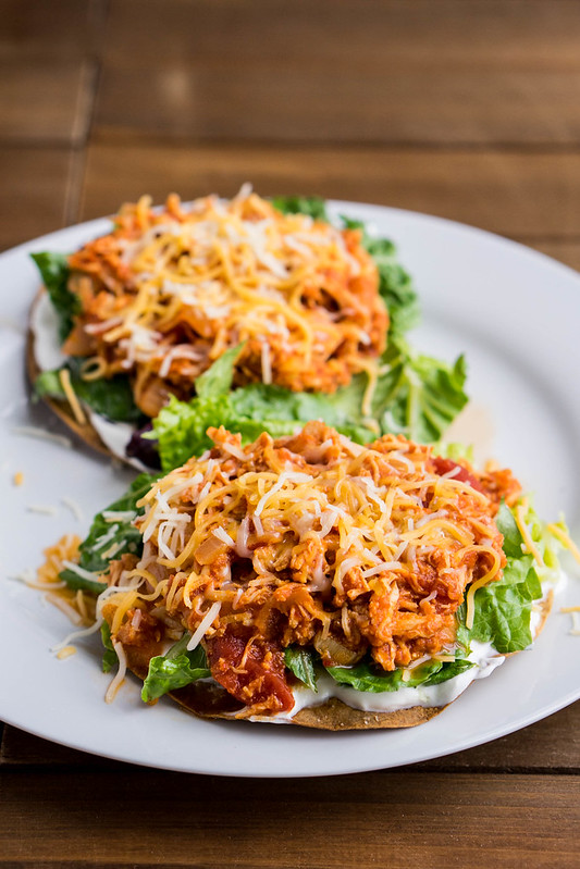 Chicken Tinga (Chipotle Shredded Chicken) | cookingalamel.com