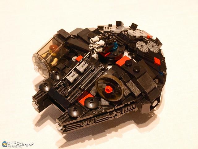 Black Millennium Falcon