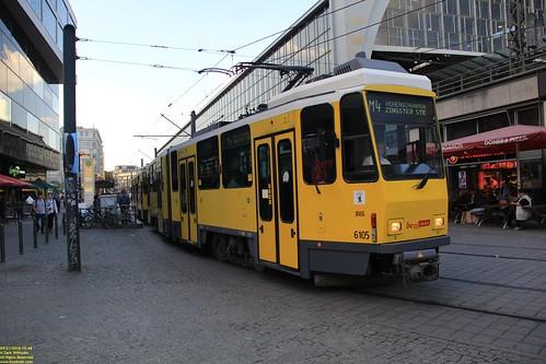 1982 Tatra KT4DM #6105 Ex BVB Ost Berlin #219 343 & 1983 Tatra KT4DM #6059 Ex BVB Ost Berlin #219 277