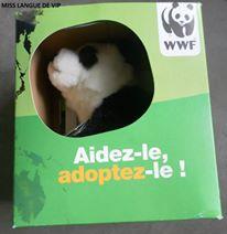 Berlingot's Animos panda WWF