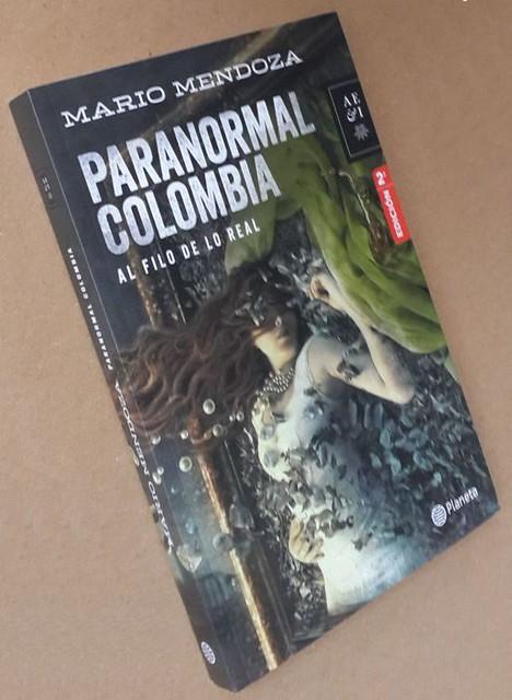 Libro Paranormal Colombia, Mario Mendoza