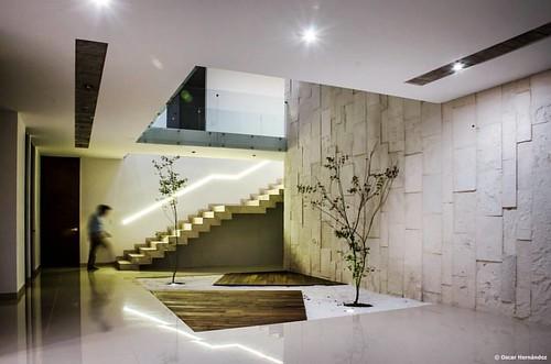 Casa molu marram arquitectos una interesante propuesta for Jardin interior zen