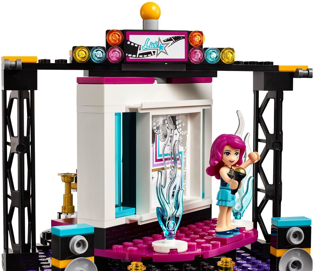 LEGO Friends 41117 - Pop Star TV Studio | Read more on www.g ...