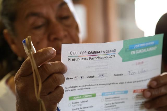 13 Ene 2017 . Presupuesto Participativo 2017, Recaudadora 1 Miguel Blanco.