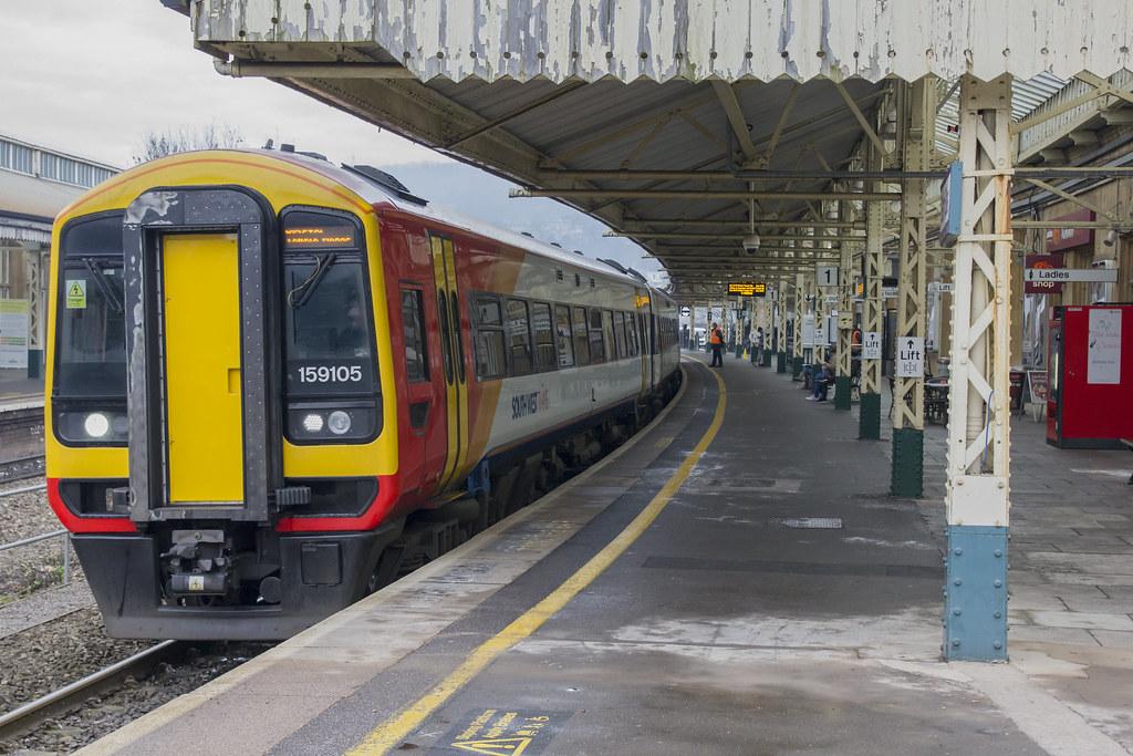 Trains At Bath Spa