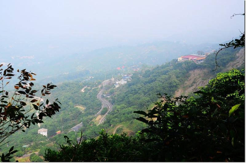 烏山步道俯瞰南化風景區 3