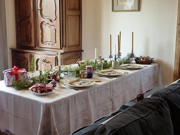 table de brunch de Noël 1