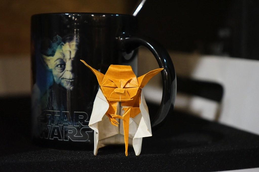 Origami Yoda Rafael Rodrigo Perurena Flickr