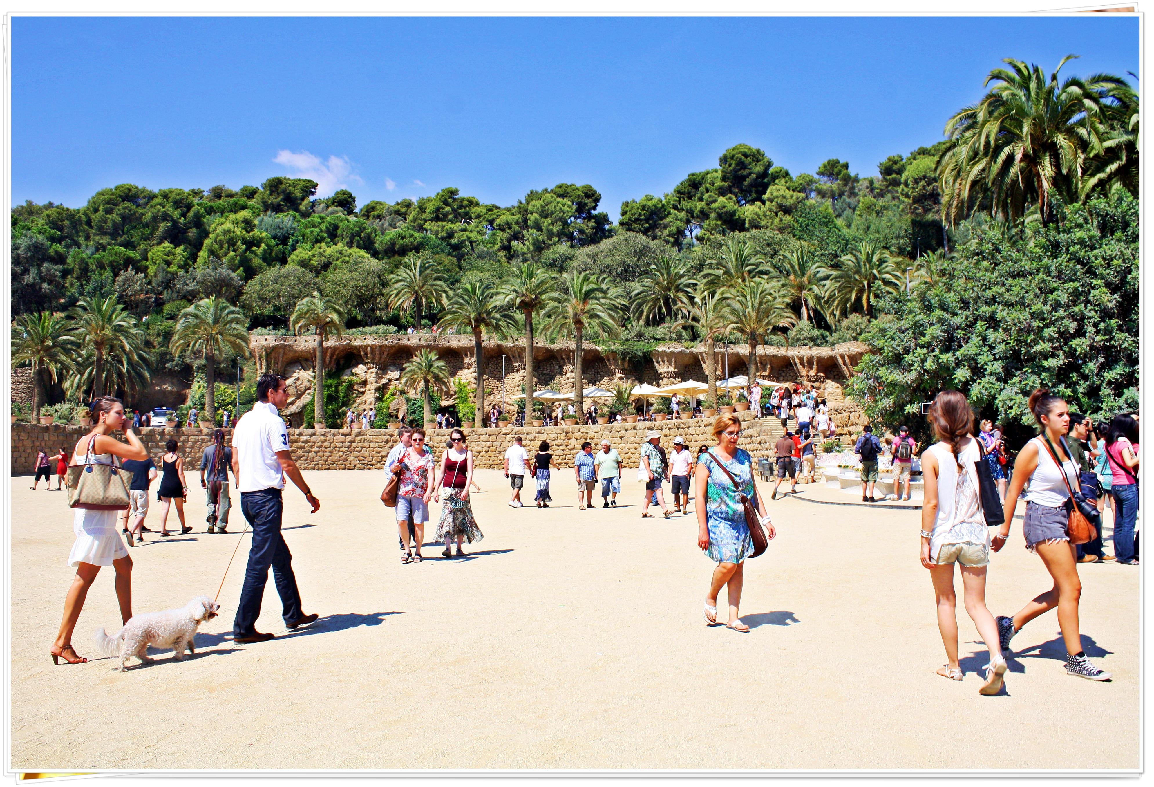 Park Güell - Barcelona, Spain 2013