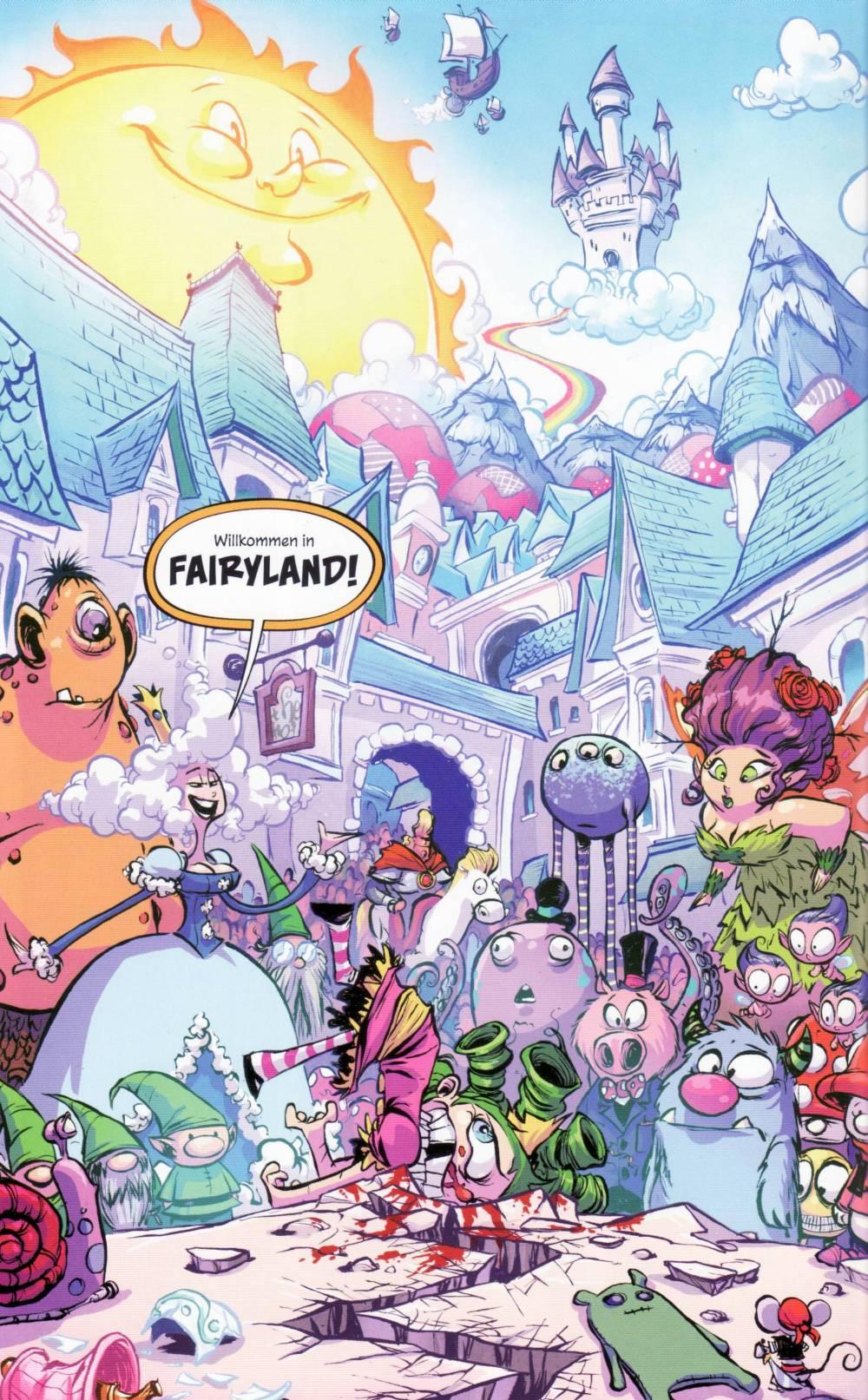 Die Ankunft in Fairyland ist alles andere als herzlich.