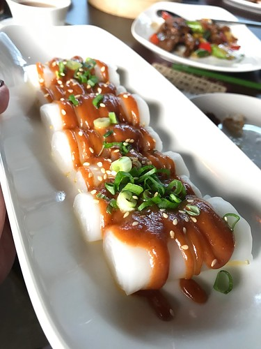 VLV Weekend Dim Sum Brunch - Steamed Rice Roll with Hoi Sin Sesame Sauce