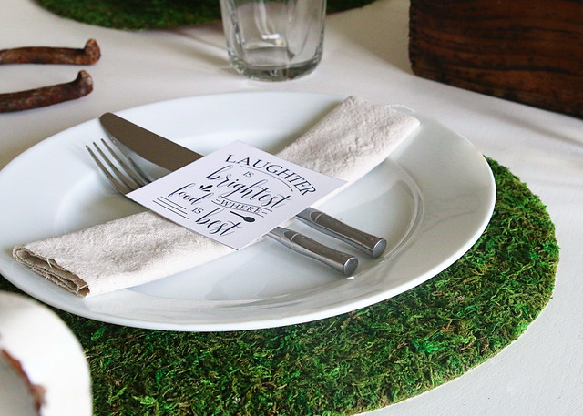 Moss Charger Silverware