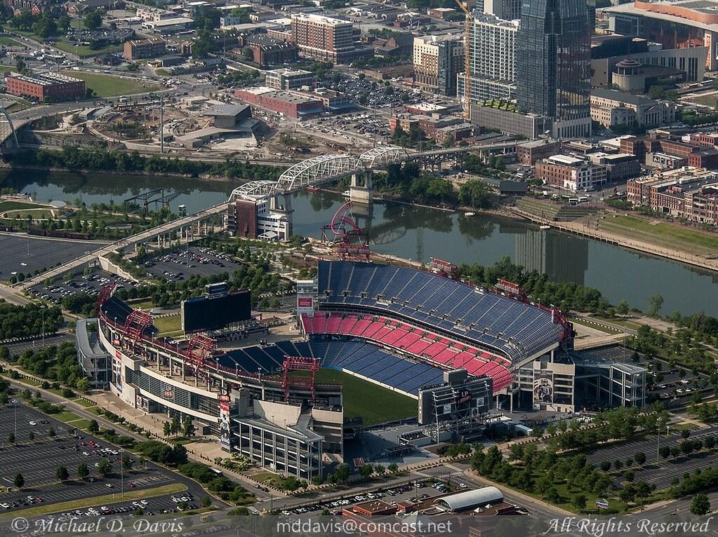 Nashville Tennessee Nissan Stadium Michael Davis