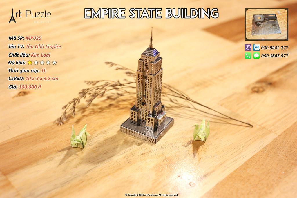 Art Puzzle - Chuyên mô hình kim loại (kiến trúc, tàu, xe tăng...) tinh tế và sắc sảo - 24