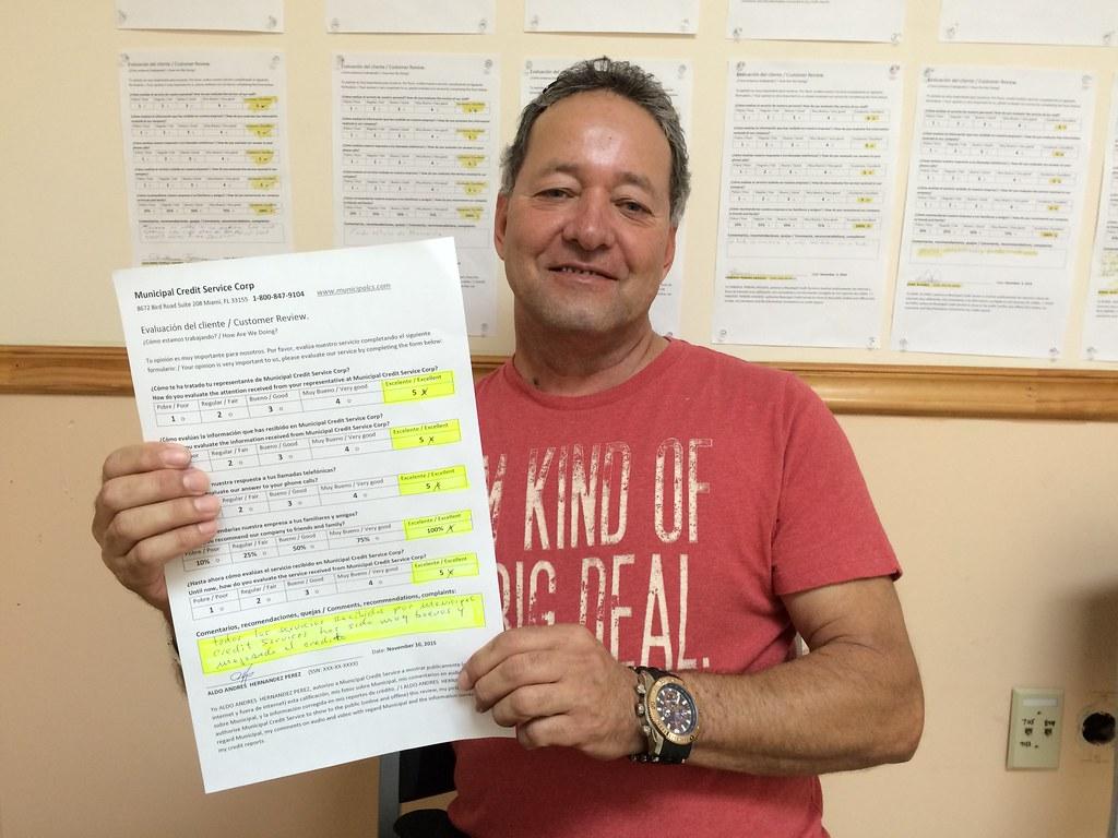 Aldo Hernandez Testimonio de Reparacion de Credito en Muni ... - photo#45
