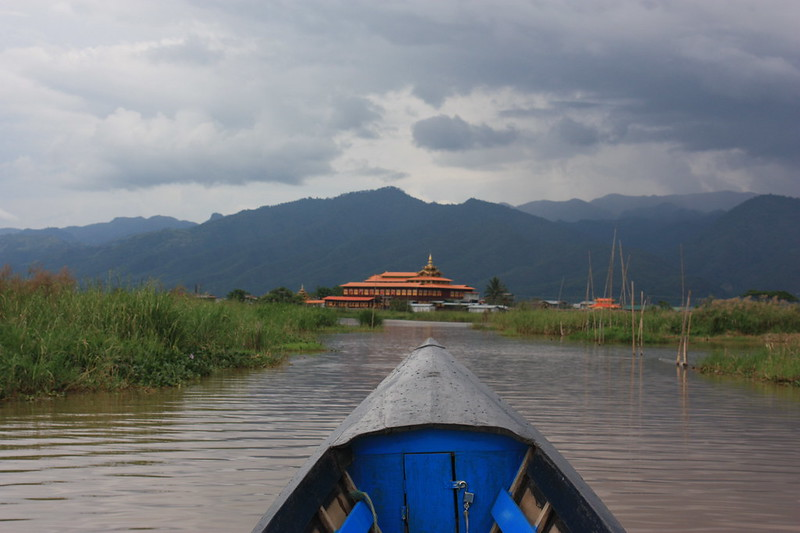 Nga Phe Kyaung Инля Мьянма
