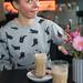 Eralda having Coffee // Kunsthal Rotterdam