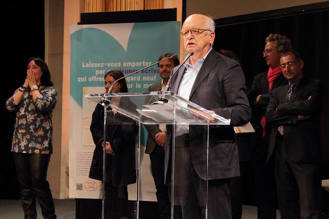 Erik Orsenna - Prix Clara 2015