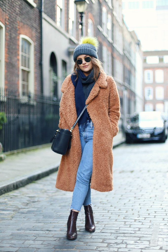 The Little Magpie Teddy Bear Coat
