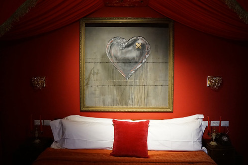 Walled Off Hotel by Banksy 9