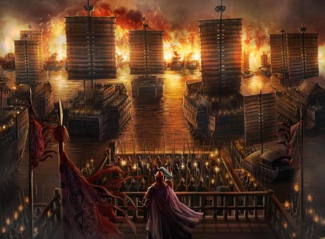 Thực hư Gia Cát Lượng 'mượn gió đông đánh trận Xích Bích