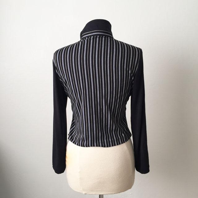 black stripe top back view